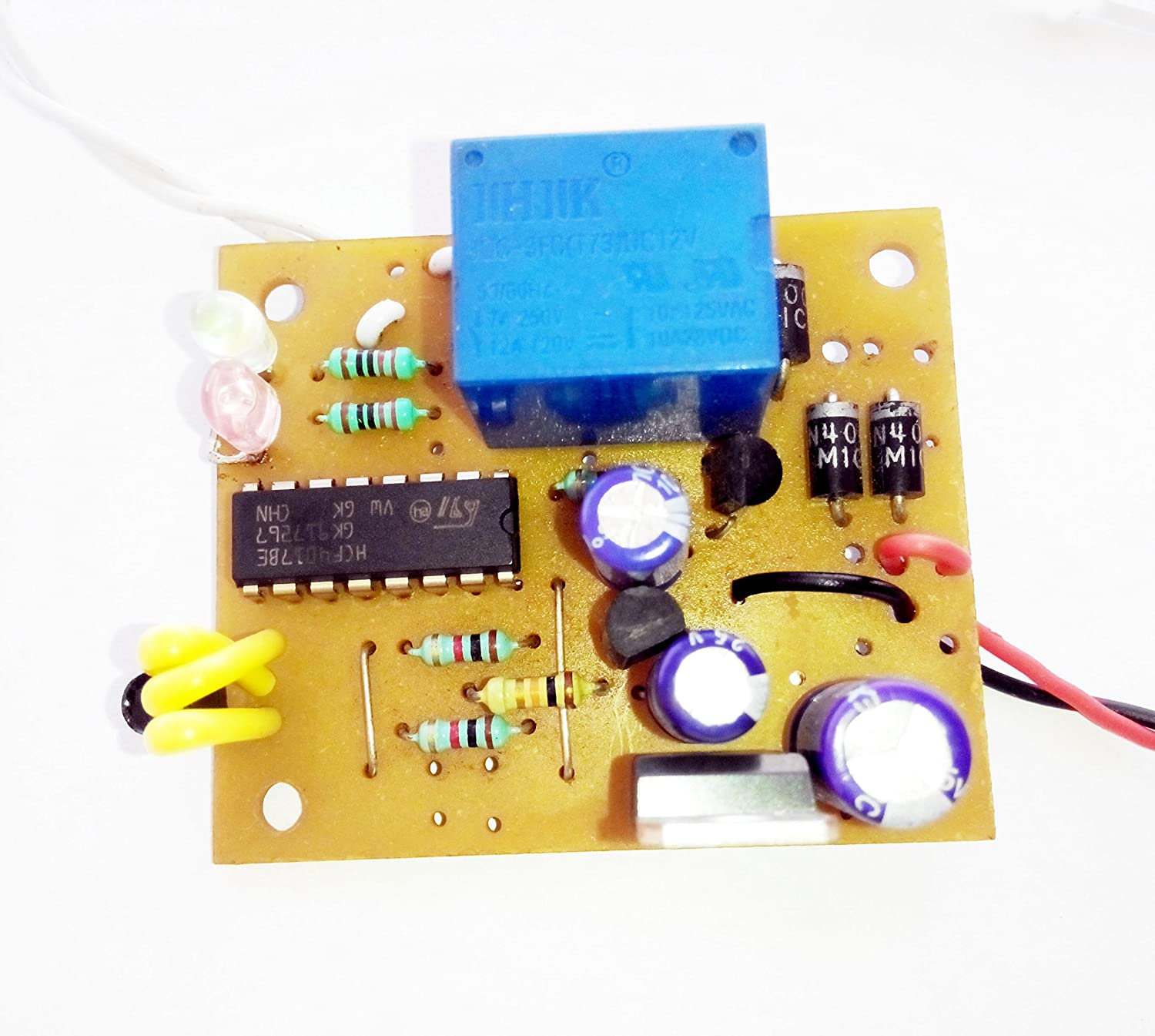 Pke Ir Remote On Off Circuit With Tester Infrared Control Switch And Applications