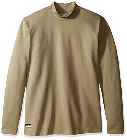 a95db5666f043 Image not available for. Color  Under Armour UA ColdGear Infrared Tactical  Fitted Mock SM Federal TAN