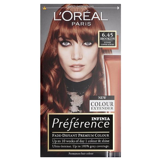 loreal hårfärg preference
