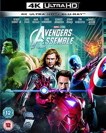 Amazon Com Avengers Assemble 4k Uhd Blu Ray Robert Downey Jr