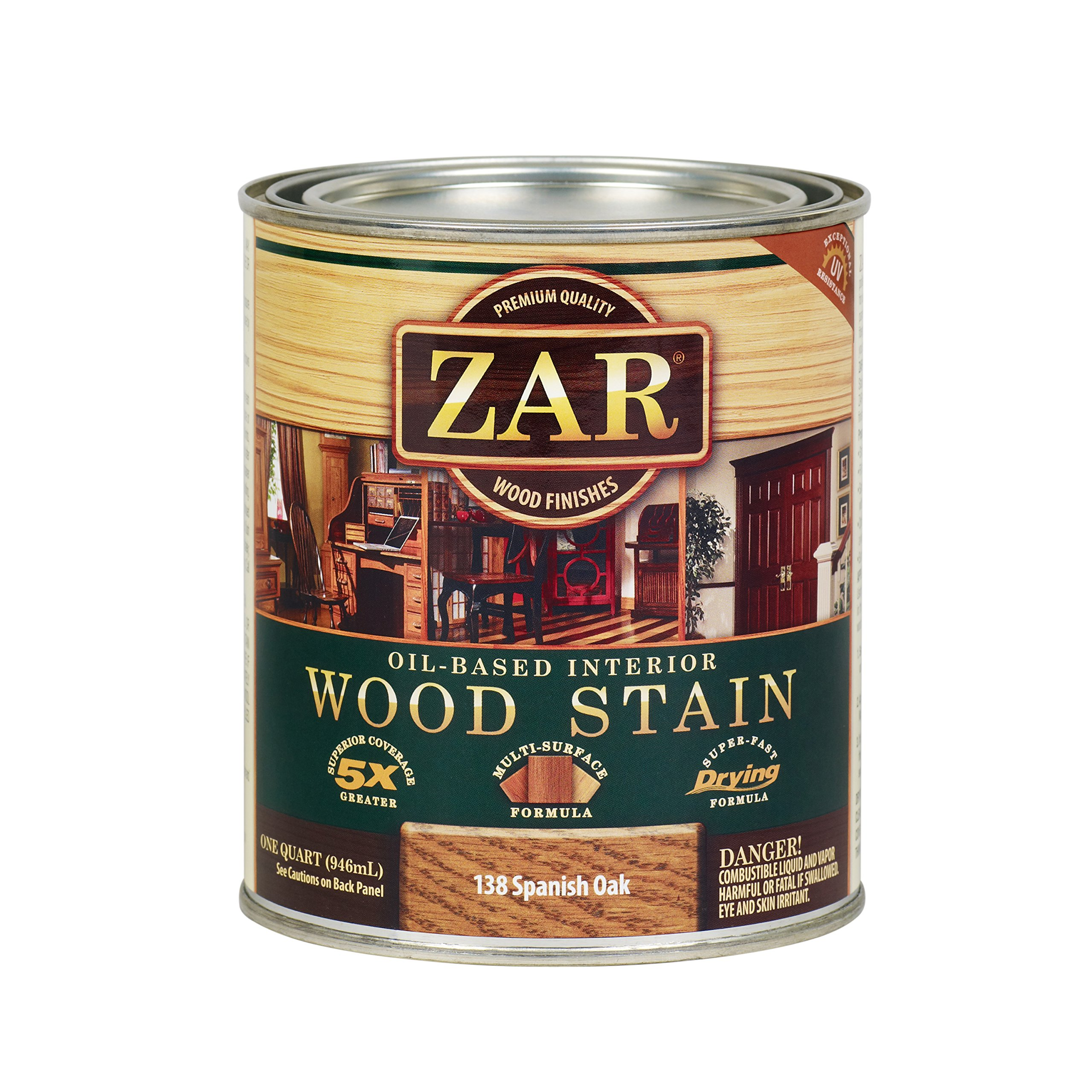 ZAR 13812 Wood Stain, Spanish Oak