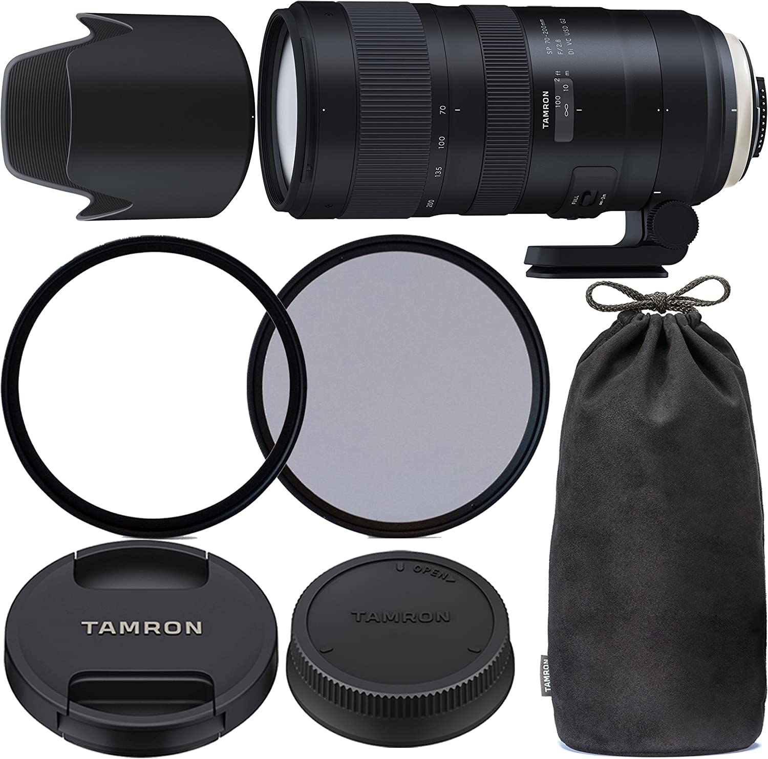 Ultraviolet UV Multi-Coated HD Glass Protection Filter for Tamron 100-300mm f//5-6.3 Lens