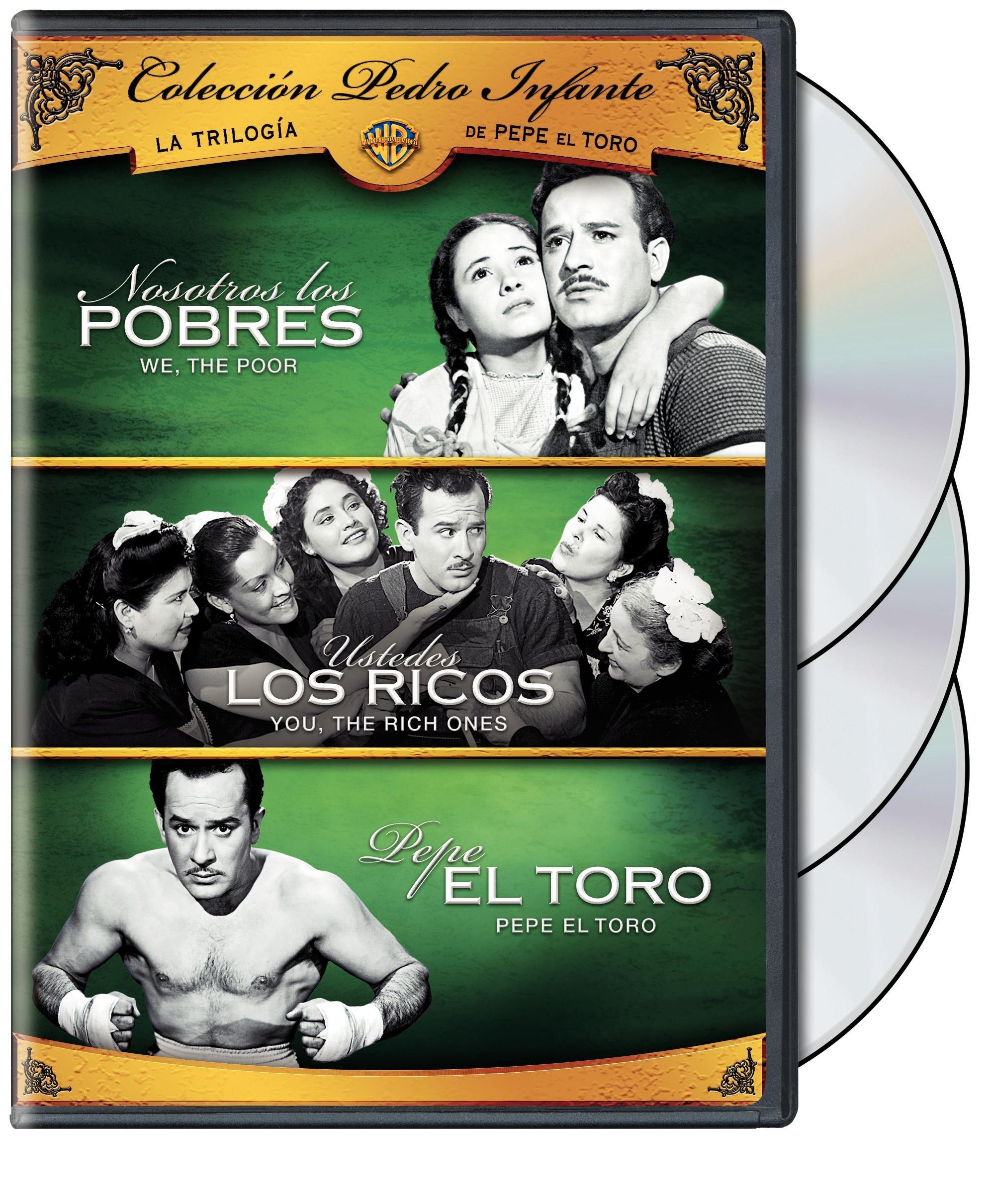 Coleccion Pedro Infante: La Trilogia de Pepe El Toro (3FE) by Warner Home Video