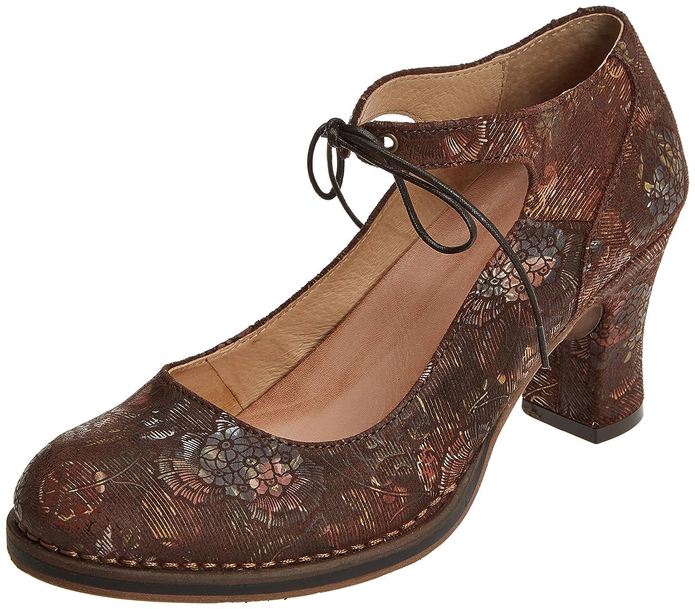 Neosens S278 Fantasy Floral, Zapatos con Correa de Tobillo para Mujer
