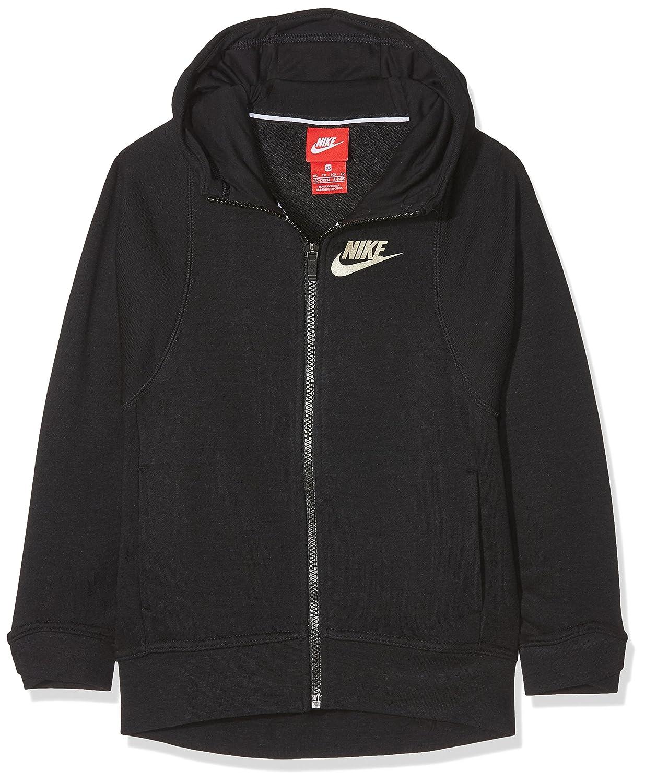 226beb58946c Nike Junior Girls Modern Sportswear Hoodie Full Zip Hoodie ...