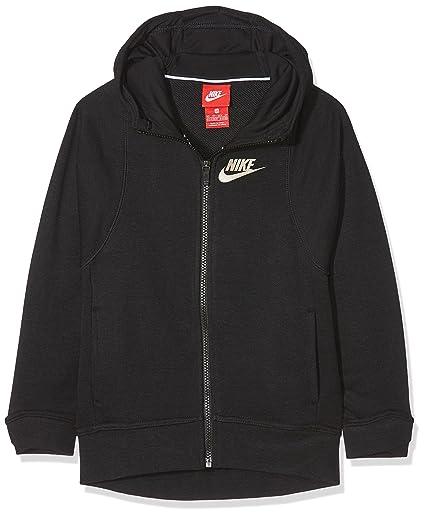 Nike Sportswear Modern Sudadera, Niñas, Negro, XS