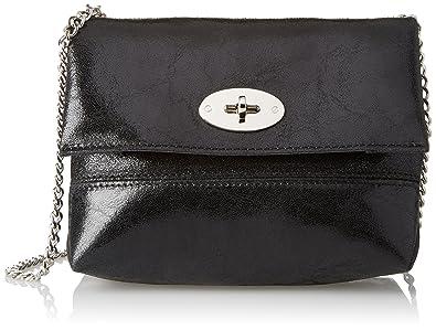 Bata 9646239, Womens Cross-Body Bag, Nero, 9x15x20 cm (W x H L) Bata