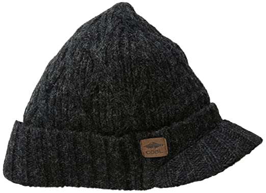 Amazon.com  Coal Men s The Yukon Fleece Lined Brim Beanie 62ec46342f91