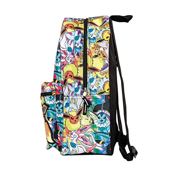 fcfe62be5c32 Pokemon Eevee Evolution All Over Print Backpack School Bag KADPEEBP ...