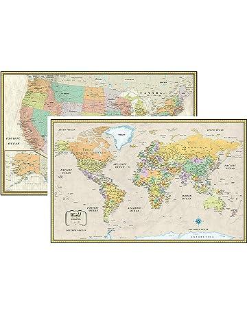 Amazon World Atlases & Maps Books