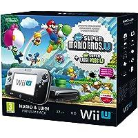 Nintendo Wii U Mario & Luigi: Premium Pack 32GB Wifi Negro - Videoconsolas (Wii U, IBM PowerPC, AMD Radeon, 32 GB, SD,SDHC, 32 GB)
