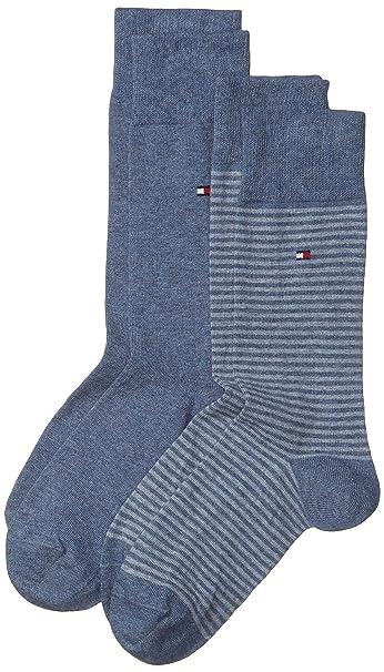 Tommy Hilfiger - Calcetines para hombre, Lote de 2: Amazon.es: Ropa y accesorios