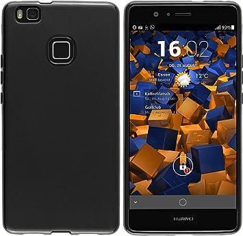 mumbi Funda Compatible con Huawei P9 Lite Caja del teléfono móvil, Negro: Amazon.es: Electrónica