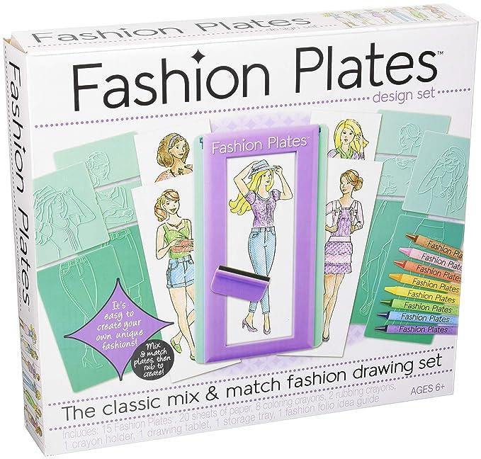 Kahootz Fashion Plates , Fashion Drawing Set