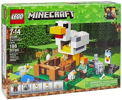 Amazon Lego Minecraft The Chicken Coop 21140 Building Kit 198