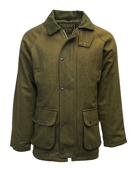 walker and hawkes herren country jacke aus tweed für die jagd geeignet dunkles salbeigrün größen xxs bis 5xl  damen jacken tweed jacken c 1_13 #4