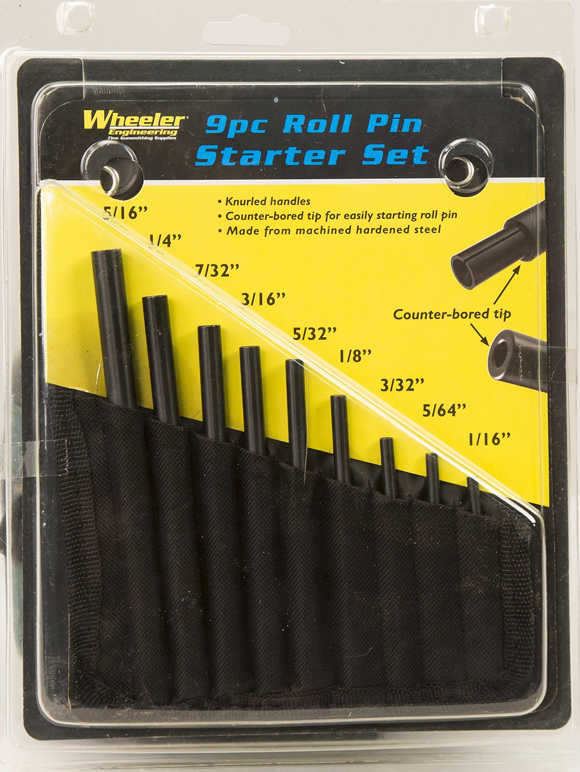 Wheeler Engineering Roll Pin Starter Punch Set by Wheeler (Image #4)