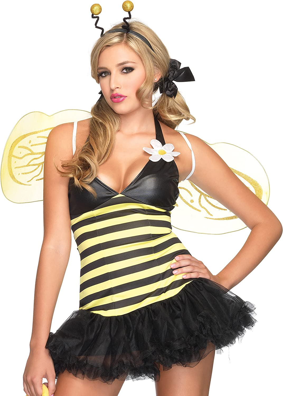 Leg Avenue Disfraz de abeja para mujer