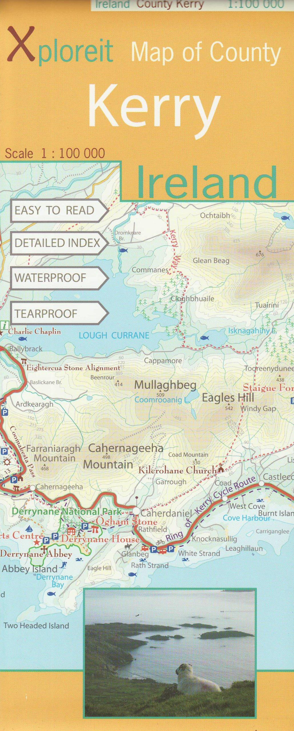 xploreit-map-of-county-kerry-ireland-1-100k-xploreit-county-series