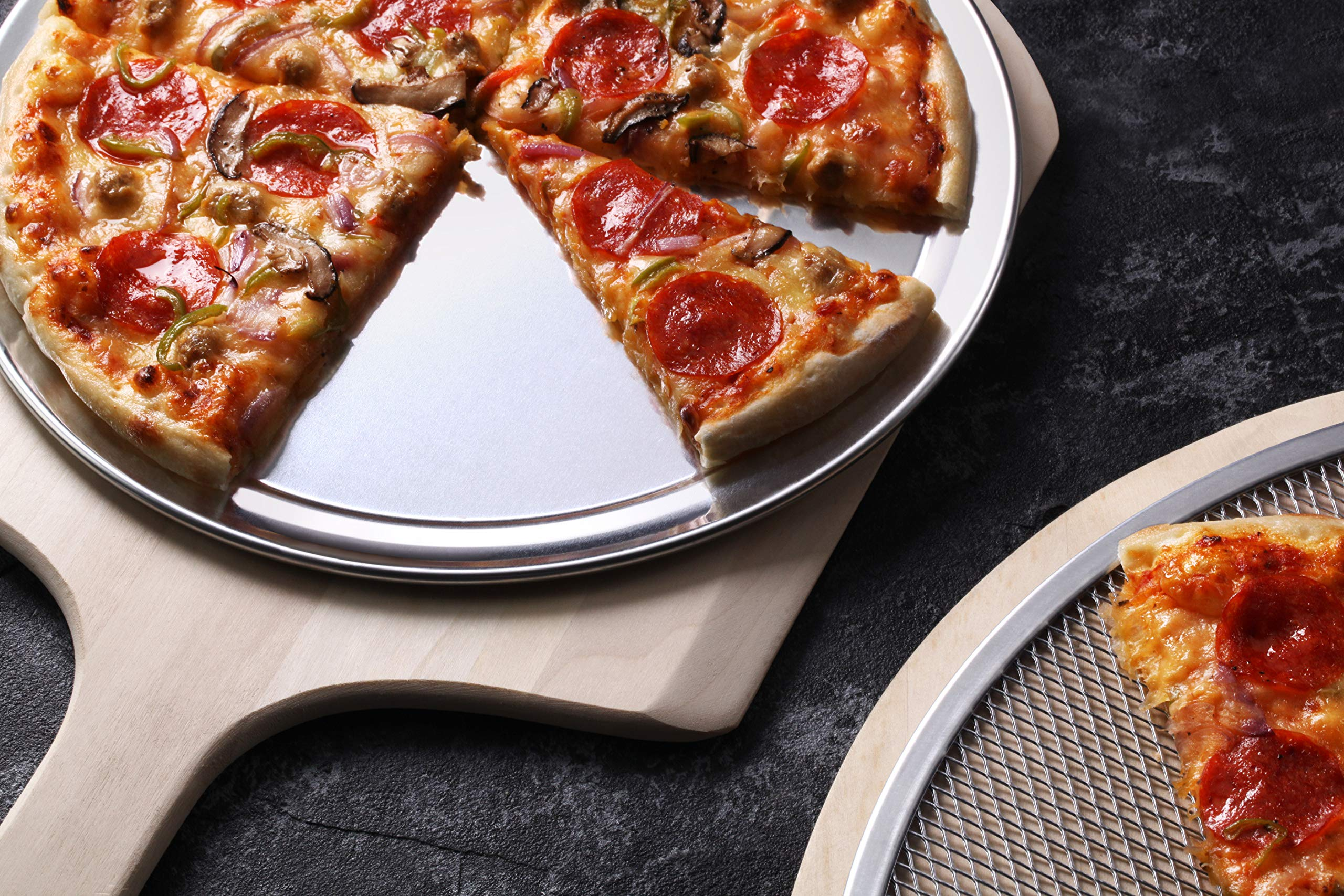 PACK OF 12 WIDE PIZZA TRAY