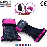 Neotrive Gants de Musculation - Crossfit - Halterophilie, Fitness, Barre de Traction Maniques Hommes Femmes