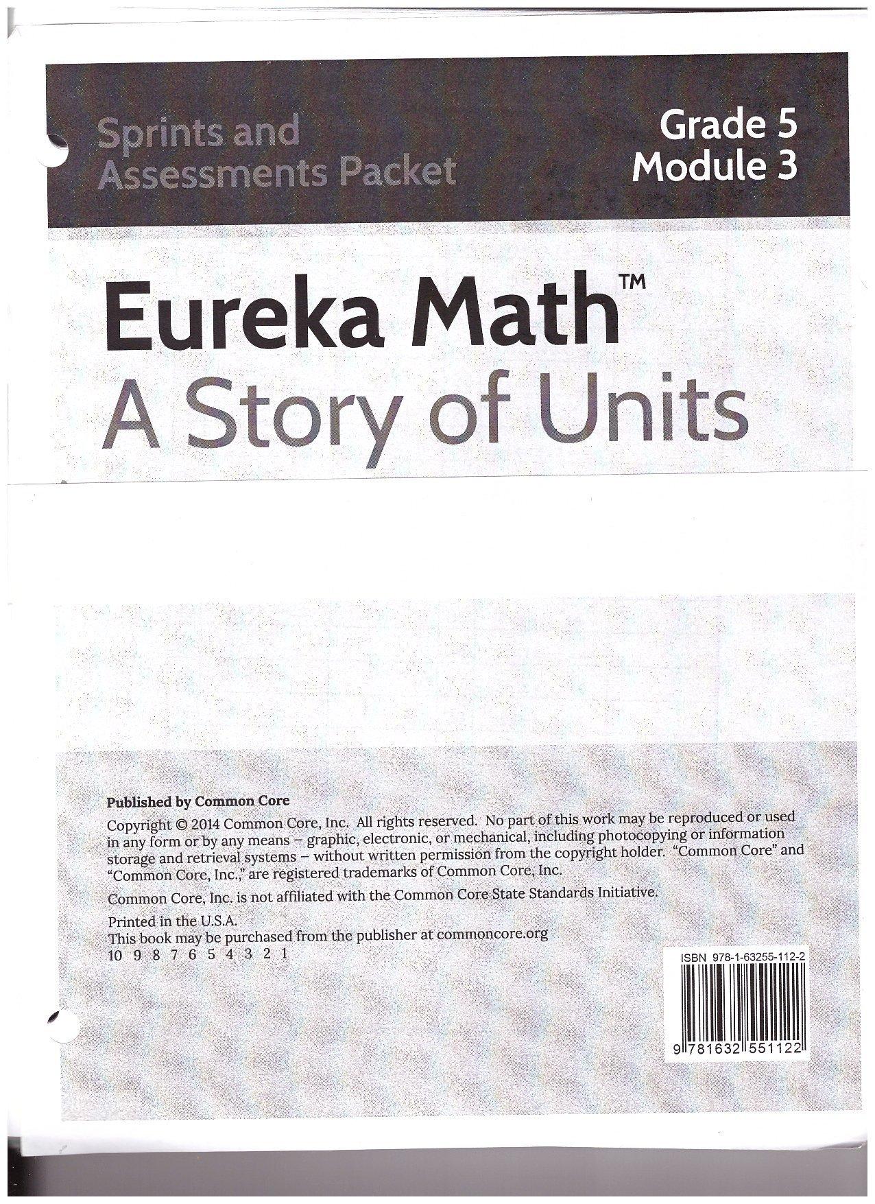 Eureka Math A Story of Units Grade 5 Module 3 Sprints and ...