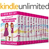 Sweet Southern Sleuths Short Stories: The Complete 12 Book Mystery Series