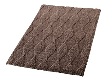 RIDDER Teppich Orient 60x90 cm braun Badezimmerteppich Badvorleger Vorleger