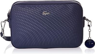 Lacoste Daily Classic, Sac bandoulière Femme,Bleu (Peacoat) , 5x16 ...