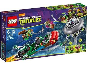 LEGO Tortugas Ninja - Ataque aéreo en el T-Rawket, juego de ...