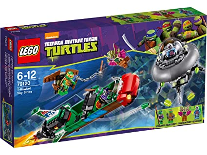 Amazon.com: LEGO T-Rawket Sky Strike Ninja Turtles: Video Games