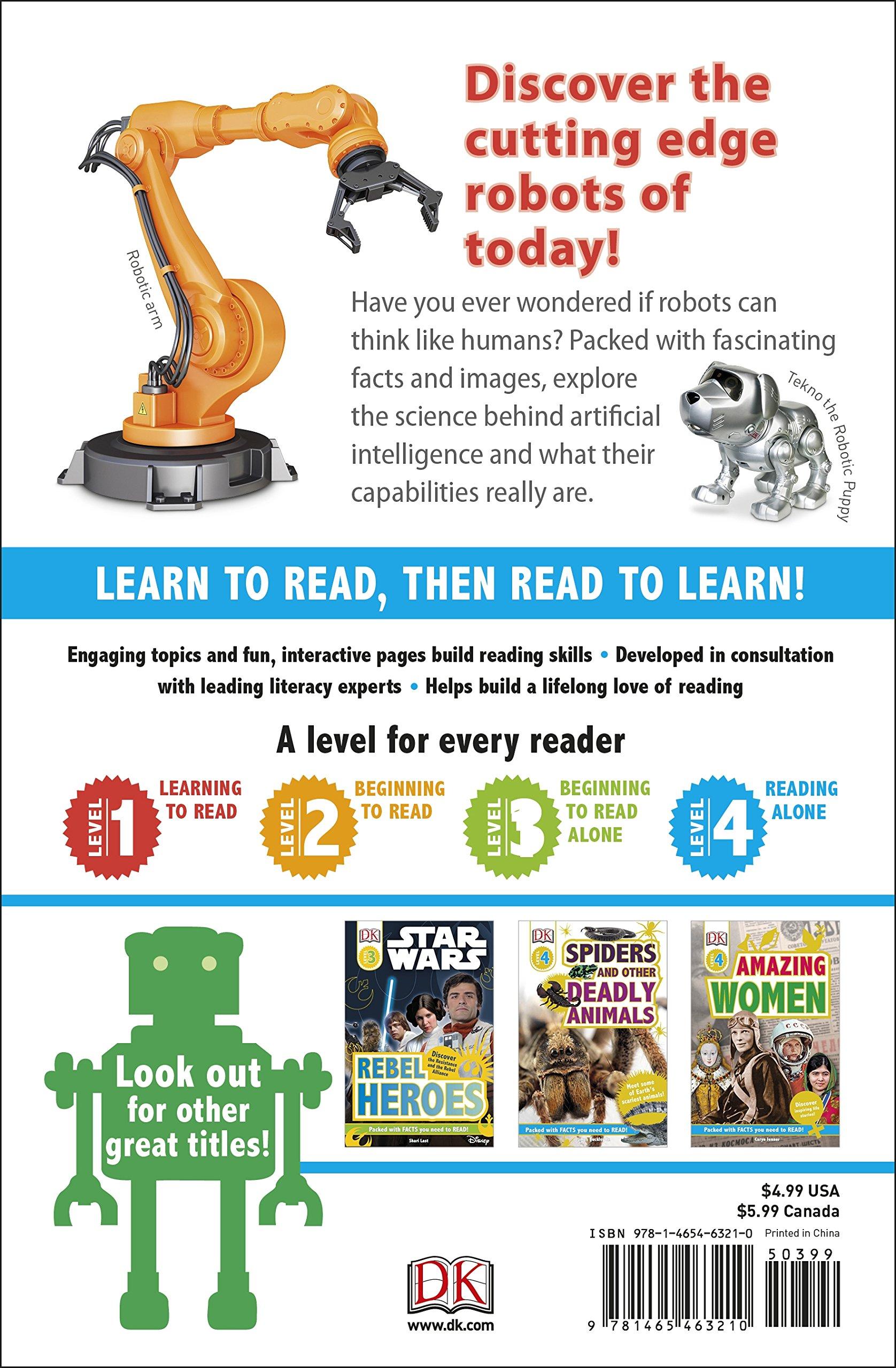 Amazon com: DK Readers L4 Robot Universe (Dk Readers, Level