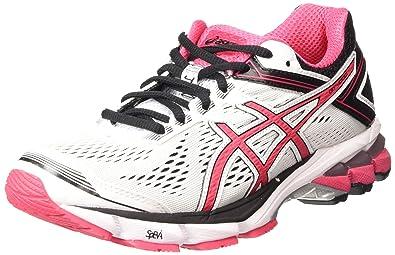 Asics Gt-1000 4, Chaussures de Running Compétition Femme - Blanc (White/Azalea/Black 0121), 39 EU