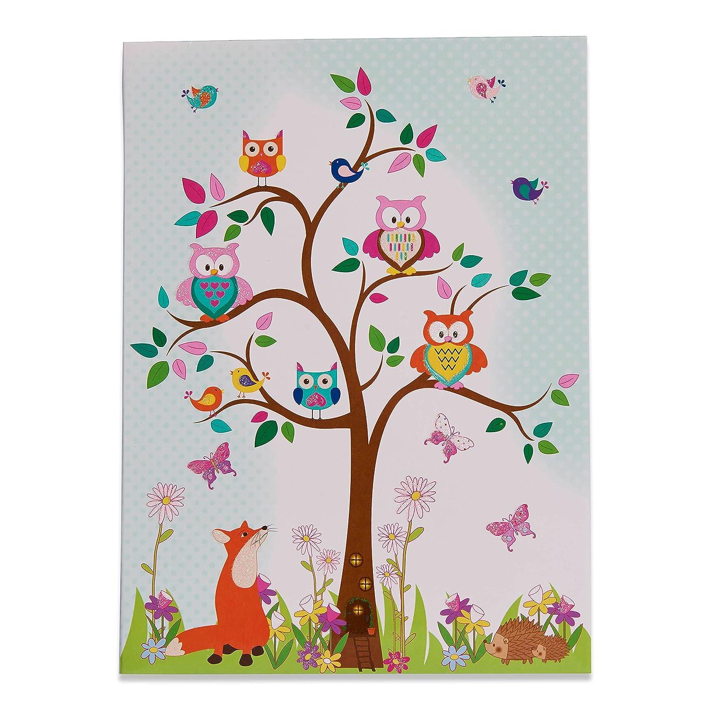 Schreibpapier, Briefumschl/äge und Postkarten im Set Lucy Locket Waldtiere Briefpapier-Set f/ür Kinder