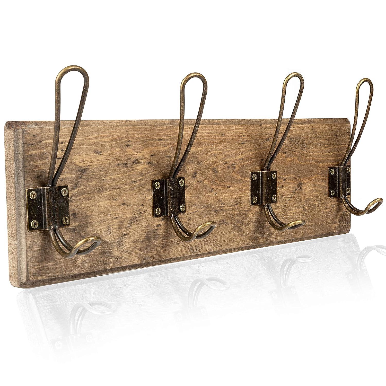 Amazon.com: Perchero de pared de madera: Office Products