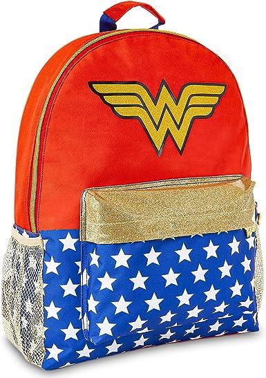 DC Comics Mochilas Mujer Casual de Wonder Woman, Regalos para Mujer Niñas: Amazon.es: Ropa y accesorios