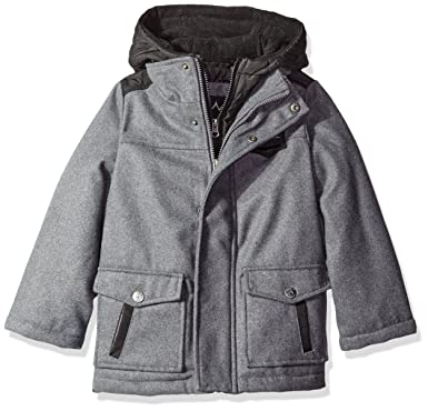 66e997caa2a1 Amazon.com  iXtreme Boys Wool Puffer JKT  Clothing