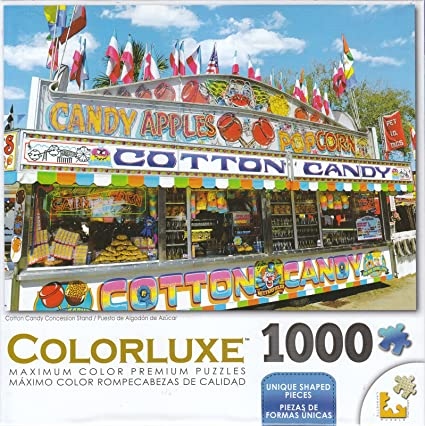 Colorluxe 1000 Piece Puzzle  Candy Mania Sonstige