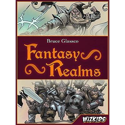 WizKids Fantasy Realms Fantasy Realms Game: Toys & Games