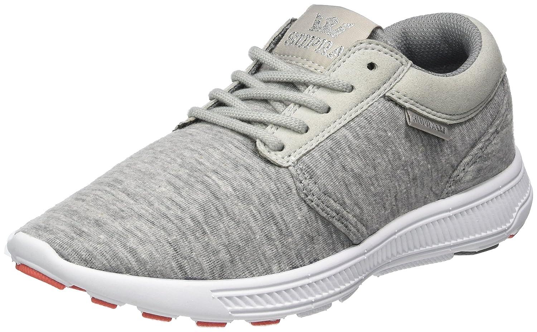 Supra Damen Hammer Run Sneaker Grau (Grau-Weiß)