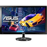 Asus VS278H Gaming Monitor, 27'' FHD 1920x1080, 1 ms, 300 cd/m², HDMI, D-Sub