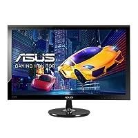 Asus VS278H 68,6 cm (27 Zoll) Monitor (Full HD, VGA, HDMI, 1ms Reaktionszeit) schwarz