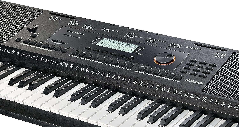 Kurzweil - Teclado portátil Home KP110 de 61 notas con asistente de interpretación (KP-110)