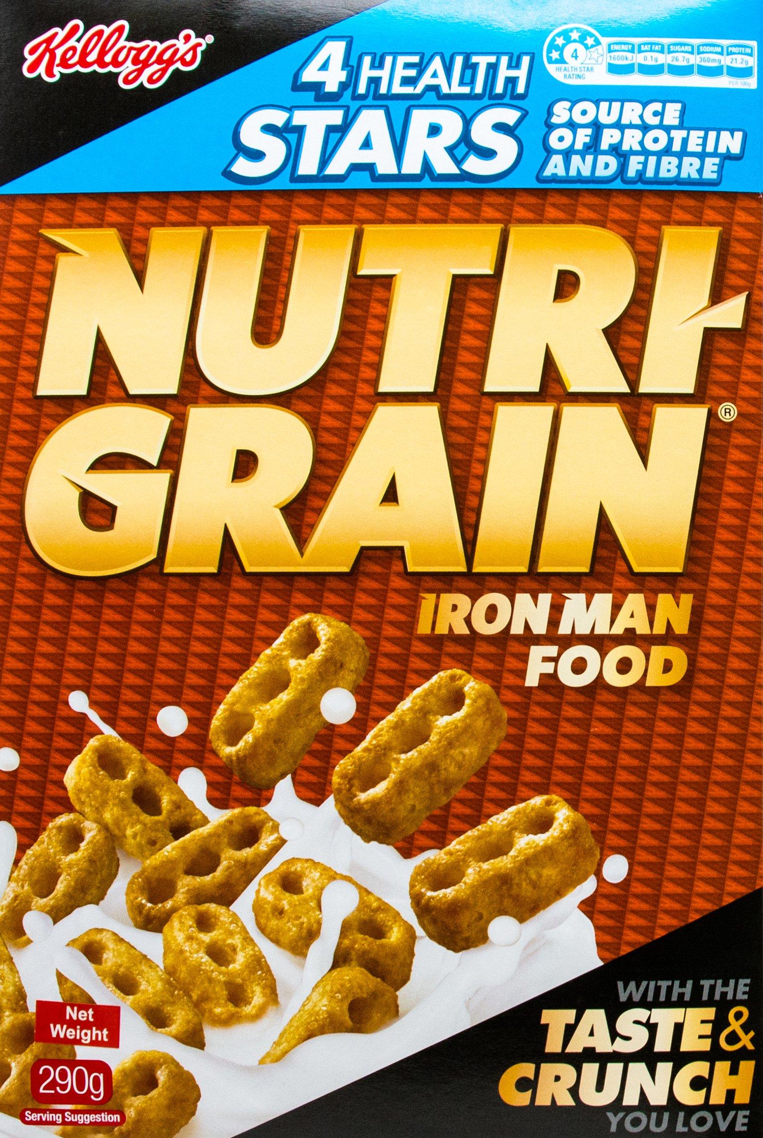 Kellogg's Nutri Grain 290G