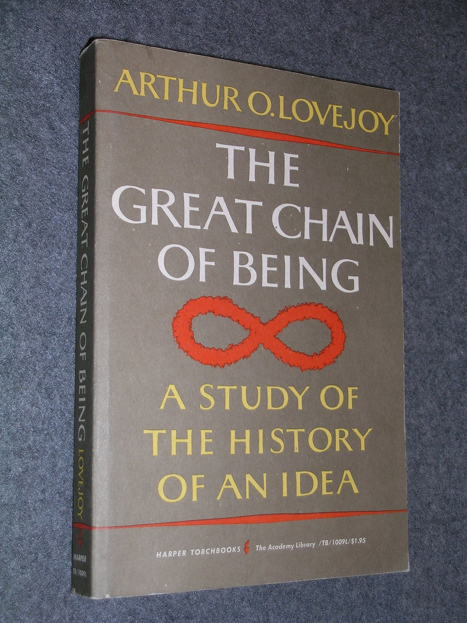 A Study of the History of an Idea The Great Chain of Being