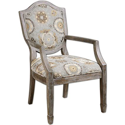 Valene Weathered Accent Chair Chair Antique Victorian Carved Accent French  Chairs Side Walnut Pair Louis Seat - Amazon.com - Valene Weathered Accent Chair Chair Antique Victorian