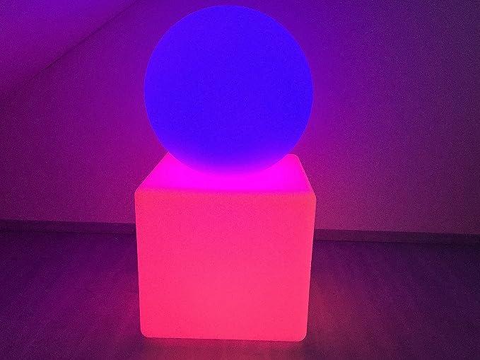 LED Boule + Set de cube, éclairage extérieur, éclairage ...