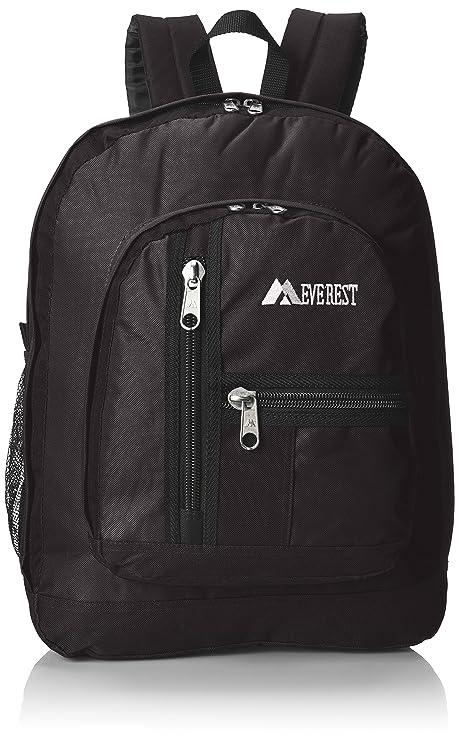 fa9fd4e29c1 Everest Double Main Compartment Backpack