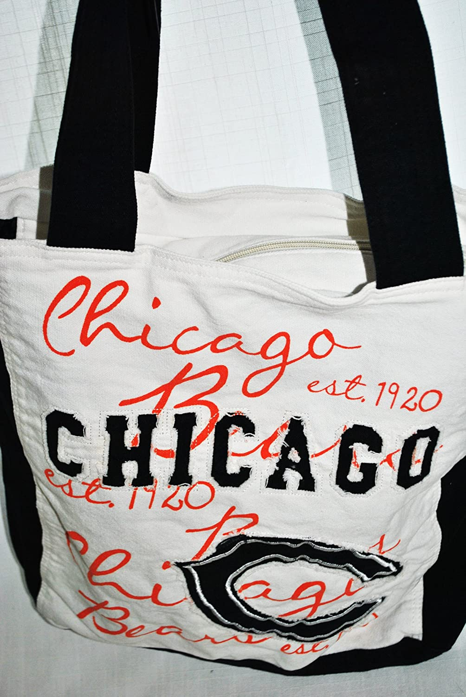 FOCO NFL Unisex Canvas Applique Tote Bag