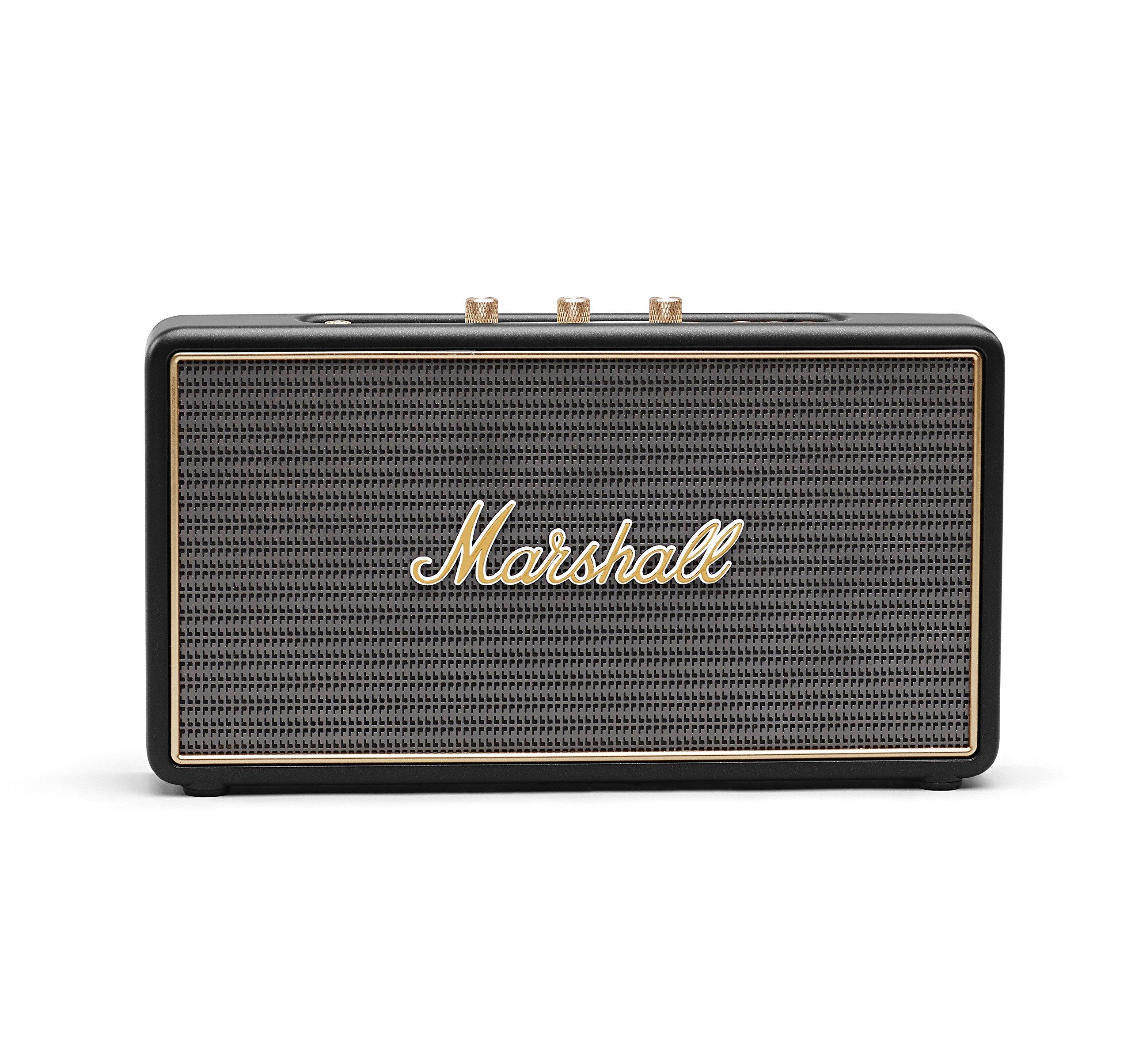 Marshall Stockwell Portable Bluetooth Speaker, Black (4091451)